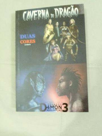 Vendo Livro Caverna do Dragão - Duas Cores - Livro