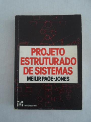 Vendo livro Projeto Estruturado de Sistemas-Meilir