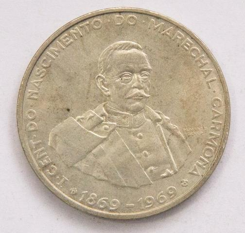 3 Moedas Prata Half Dollar  E 50 Escudos comemorativa