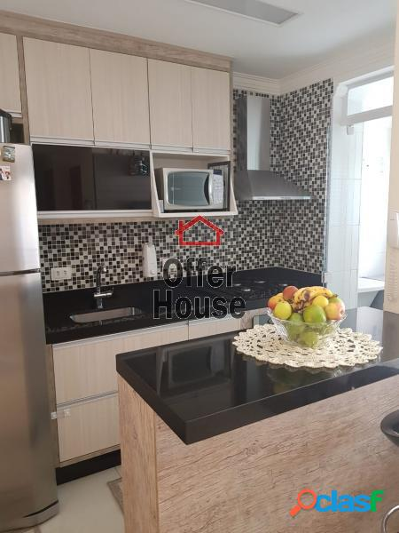Apartamento com 2 dorms em Santo André - Campestre por 390
