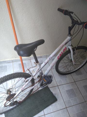Bicicleta Caloi 18 Marchas pouco usada!