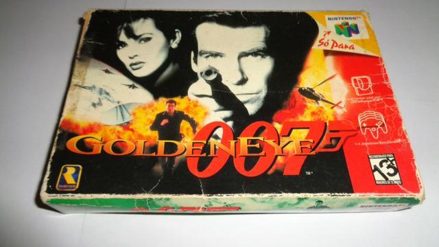 Caixa/Berço E Manual 007 Goldeneye (Português) N64