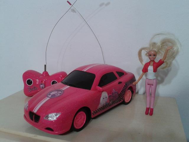Carro de Controle Remoto barbie boneca prox baltazar entrego