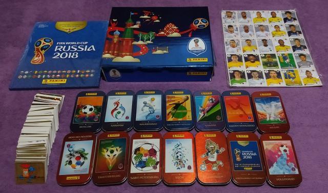 Coleção Premium Album de Figurinhas da Copa do Mundo