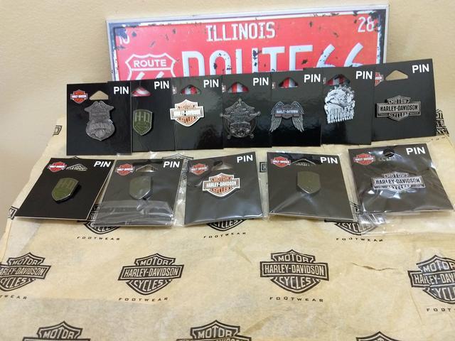 Pins e botons original Harley Davidson HD