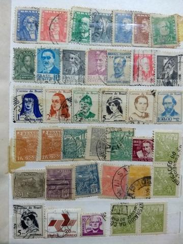 Vendo/Troco coleção de selos