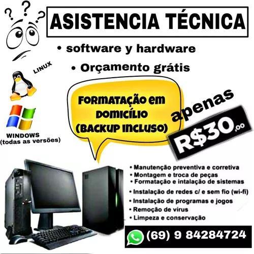 Asistencia Tecnica Pc E Notebook