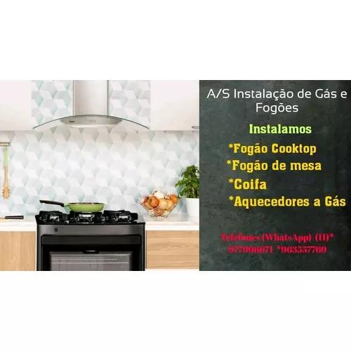 Instalacões De Gás E Fogões Domésticos E Industriais