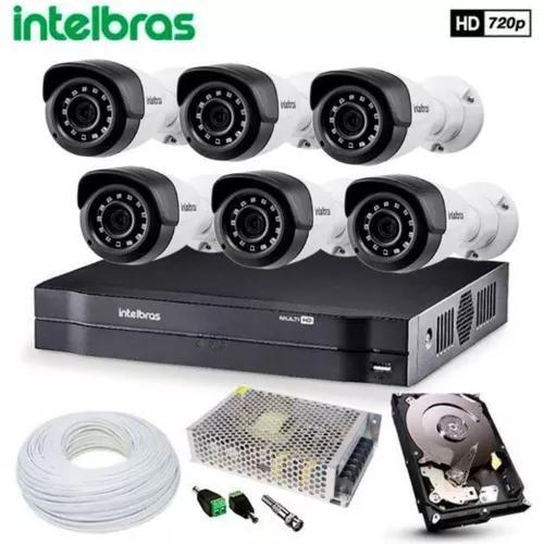 Kit Camera Segurança Eletronica