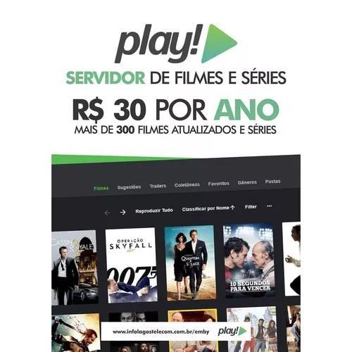 Play, Servidor De Filmes E Series.