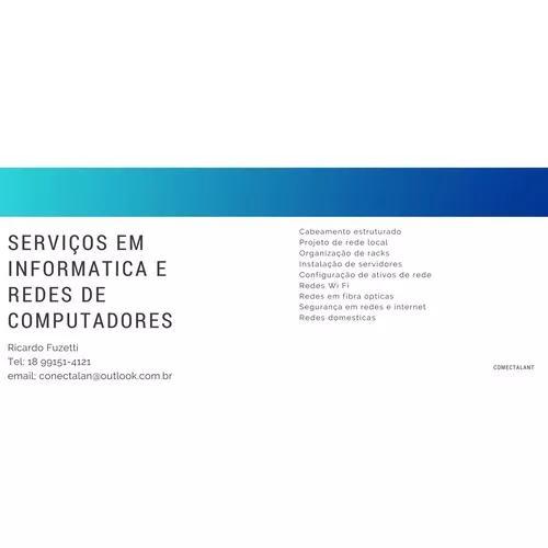 Serviços De Rede E Informática