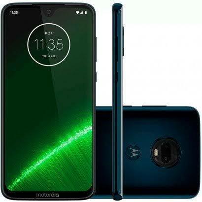 Smartphone Motorola Moto G7 Plus 64GB Indigo LACRADO NOVO 4G