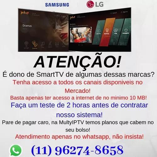 Todos Os Canais De Tv Para Smart Tv Da Samsung Ou Lg