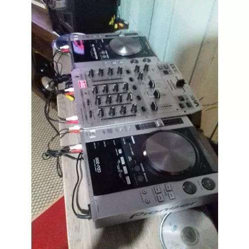 Vendo Par De Cdj + Mixer