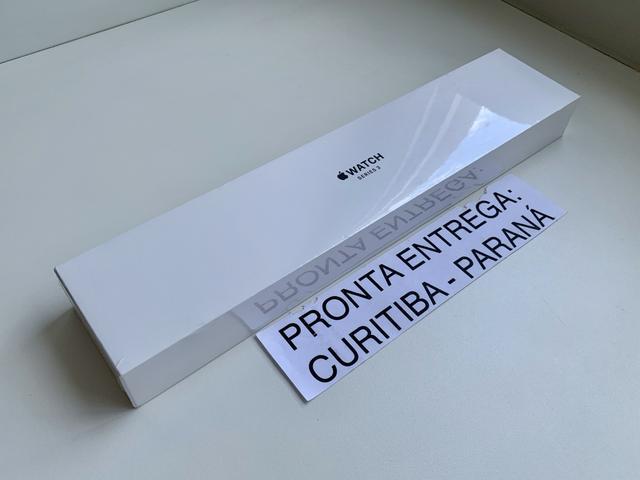  38 mm - Apple Watch Série 3 Cinza Espacial. Novo. Troco