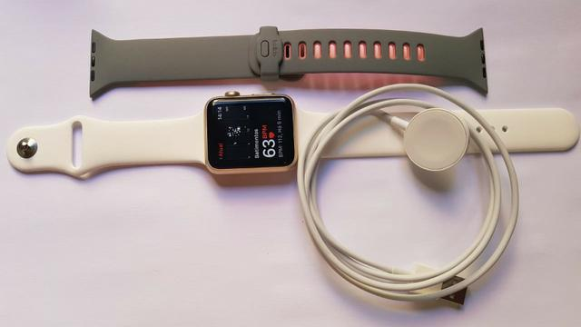 Apple Watch Serie 1 Dourado 42mm Lindo Original Apple modelo