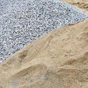 Areia e Pedra - Bom preço!