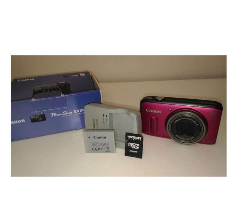 Canon PowerShot SX240 HS. Zoom 20x. 12.1MP