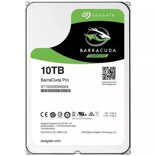 Hd 10tb Sata Seagate 256mb 7200rpm Barracuda Pro - Desktop