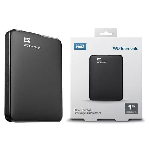 Hd Externo Western Digital 1tb C/ Usb 2.0 3.0