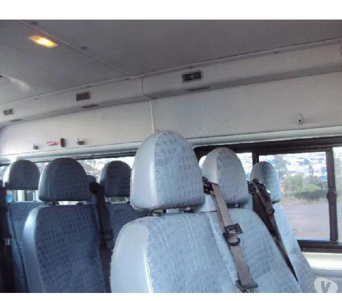 Micro Ônibus Ford Transit 2.2, 16 lugares 2014