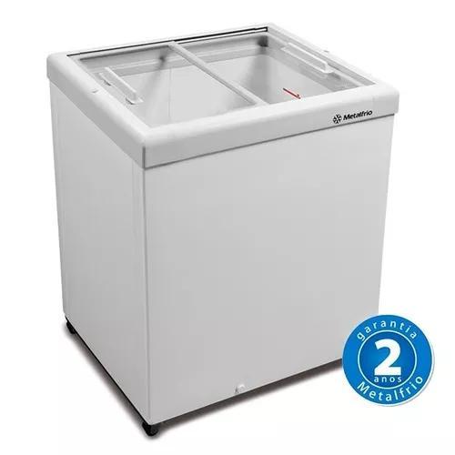 Freezer Horizontal Tampa De Vidro 189l Hf20s - Metalfrio
