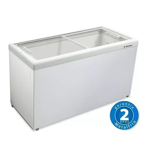 Freezer Horizontal Tampa De Vidro 563l Hf55 L - Metalfrio