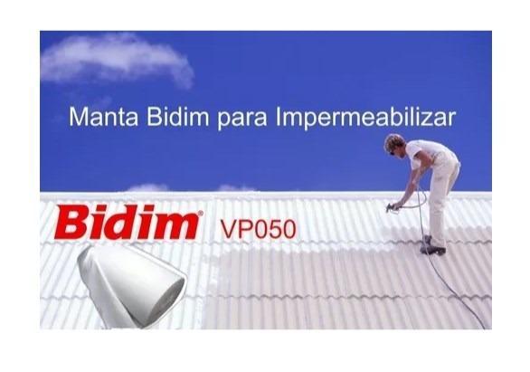 Manta Bidim VP05 impermeabilização Telhado