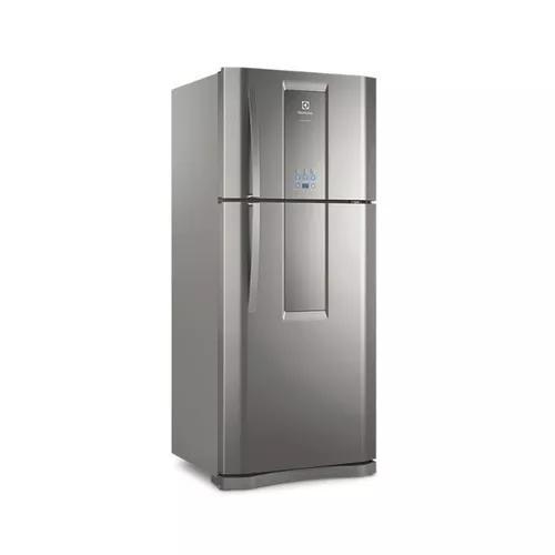 Refrigerador Infinity 2 Portas 553l Frostfree Inox Electrolu