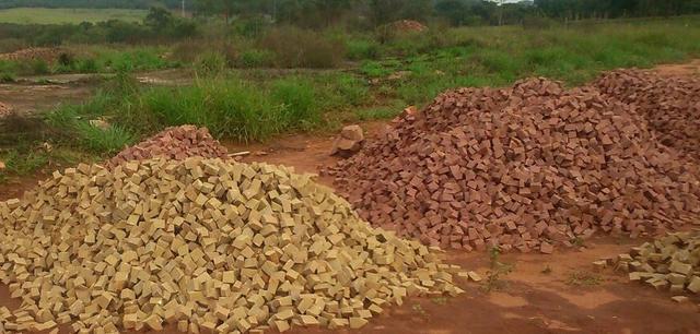 Venda de pedra portuguesa para calçada em Campinas