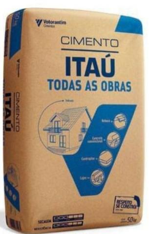 Vendo cimento Itaú a preço de custo R$