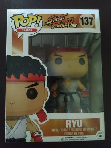 Funko Pop Street Fighter -Ryu, Cammy e Balrog