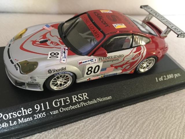 Porsche 911 Gt3 Rsr - 24h Le Mans  Minichamps