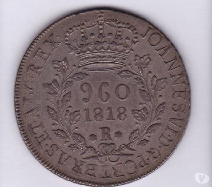 Vende-se 60 moedas de prata 1702 a 1886