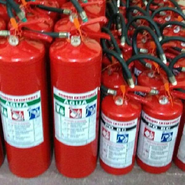 A recarga extintores