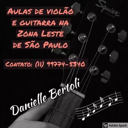 Aulas De Guitarra E Violão Na Zona Leste De São Paulo