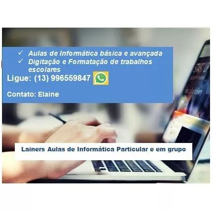 Aulas Particulares De Informática A Domicilio