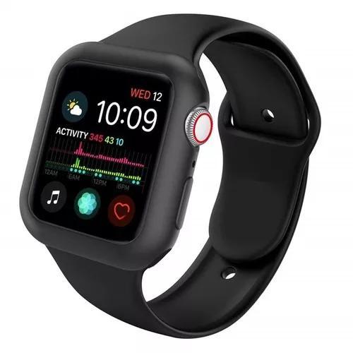 Capa Case Silicone Para Apple Watch+pulseira 38/40/42/44mm