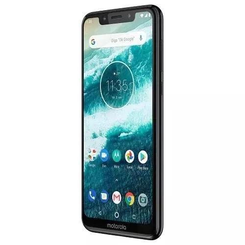Celular Motorola Moto One 64gb 5.9 4gb Preto/ Capa +fone