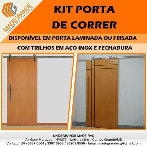 Kit Porta Correr Completo