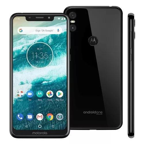 Motorola One Preto 64gb / Melhor Preço Limitado A 10 Vendas