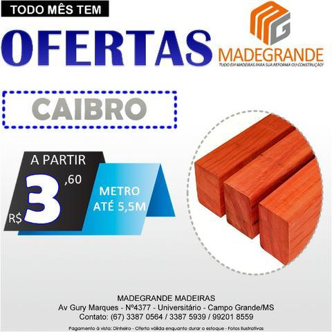 Promoção Caibro de Madeira