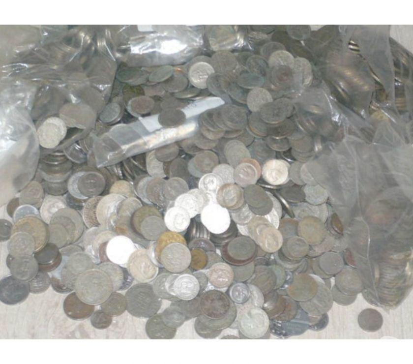 moedas antigas desde  Pratas, Cobre, Bronze lote1