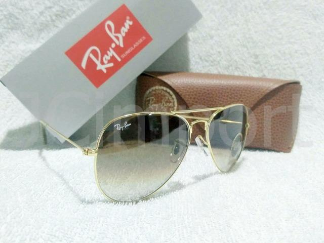 RB Aviador  Marrom degradê - Óculos de sol