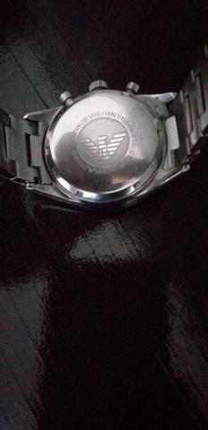 Vendo relógio Armani Original ou troco
