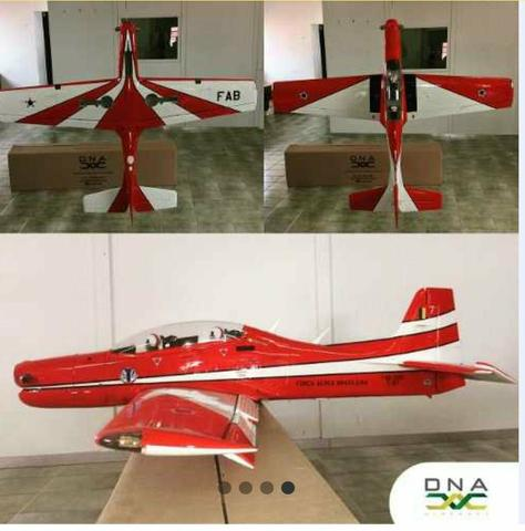 Aeromodelo T-27 tucano 20cc DNA Aircraft