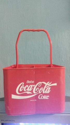 Caixa Para Transportar 4 litros De Coca-Cola