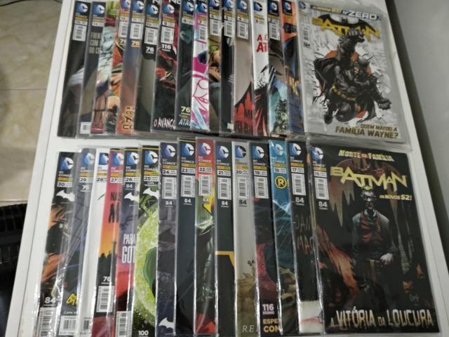 Coleção Batman Novos 52