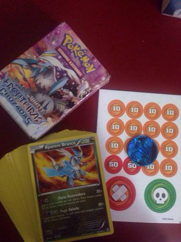 Deck Card Game Pokemon - Completo e nunca usado