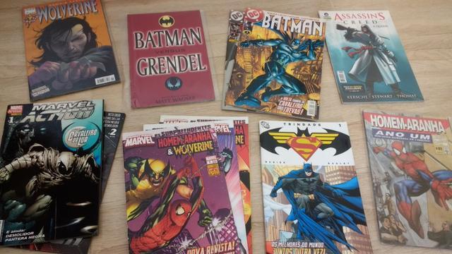 Lote de HQ'S e quadrinhos em ótimo estado
